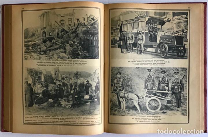 Libros antiguos: ILLUSTRIERTER KRIEGS-KURIER. Wochen-Ausgabe. Corriere della guerra. Courrier de guerre. - Foto 5 - 208661937