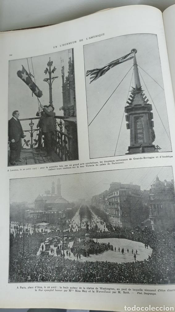 Libros antiguos: Álbum de la I guerra mundial. 2 tomos. - Foto 3 - 209210786