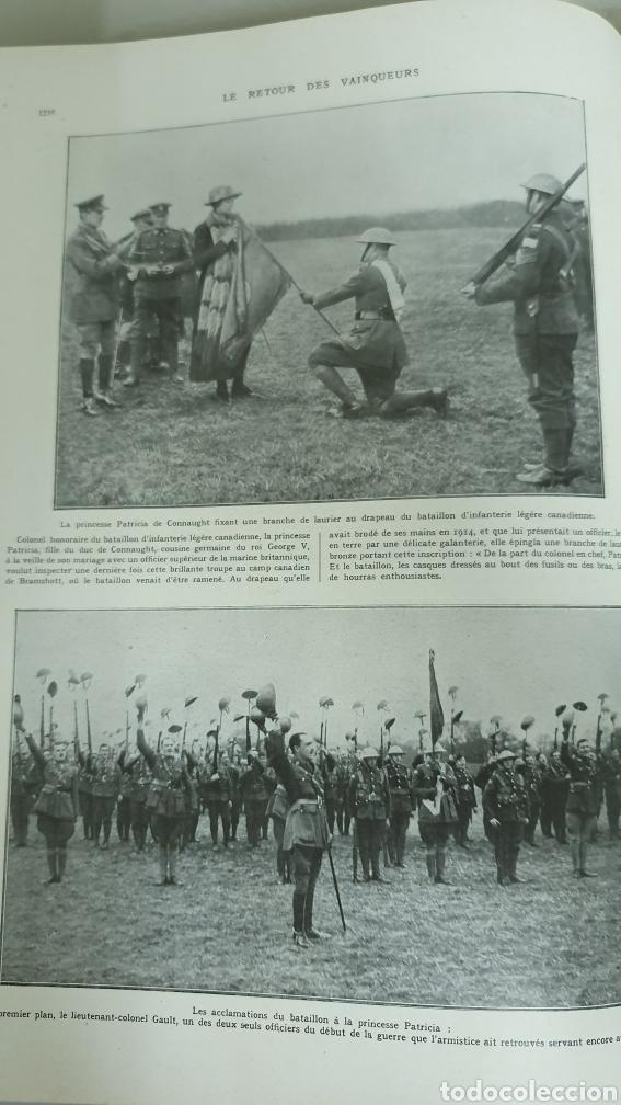 Libros antiguos: Álbum de la I guerra mundial. 2 tomos. - Foto 7 - 209210786