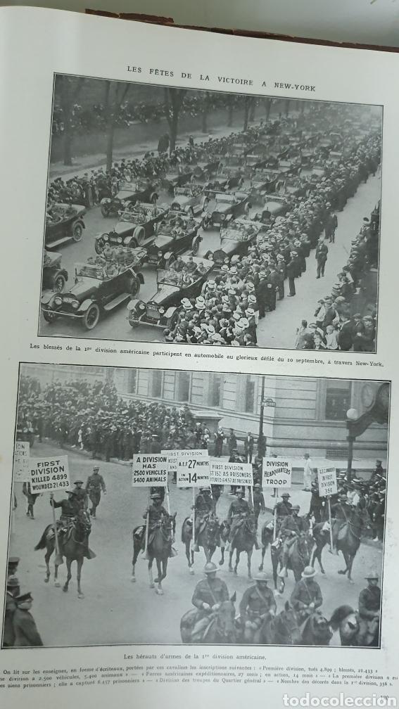 Libros antiguos: Álbum de la I guerra mundial. 2 tomos. - Foto 8 - 209210786