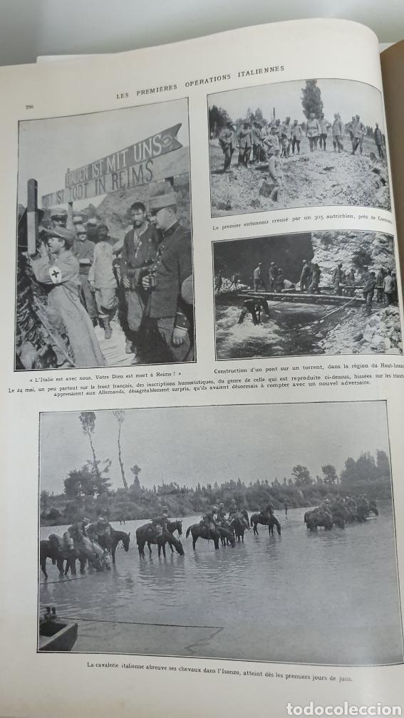 Libros antiguos: Álbum de la I guerra mundial. 2 tomos. - Foto 9 - 209210786