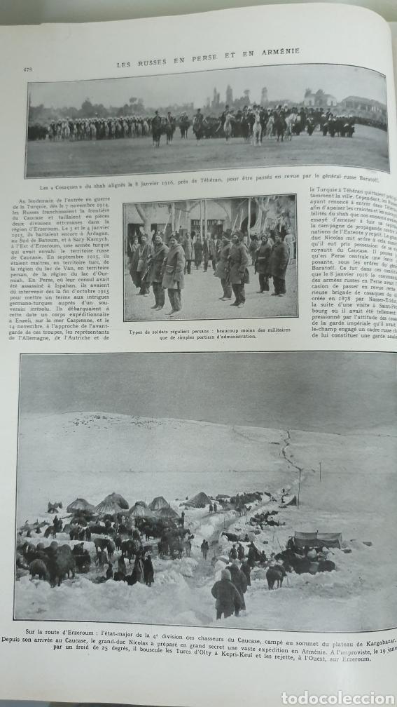 Libros antiguos: Álbum de la I guerra mundial. 2 tomos. - Foto 11 - 209210786