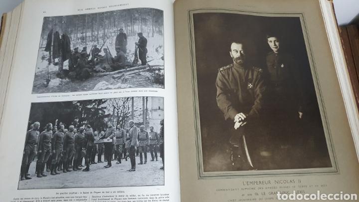 Libros antiguos: Álbum de la I guerra mundial. 2 tomos. - Foto 12 - 209210786