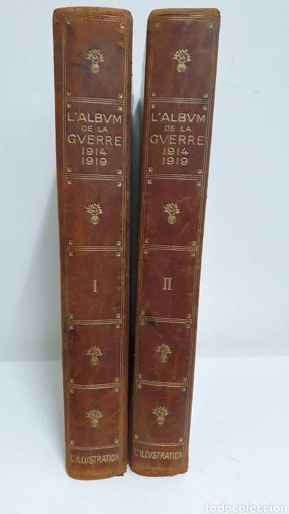 ÁLBUM DE LA I GUERRA MUNDIAL. 2 TOMOS. (Libros antiguos (hasta 1936), raros y curiosos - Historia - Primera Guerra Mundial)