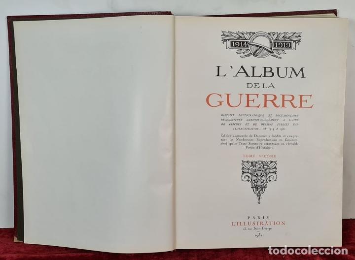 Libros antiguos: LALBUM DE LA GUERRE. VVAA. LILLUSTRATION. 2 TOMOS. 1932. - Foto 2 - 212955616