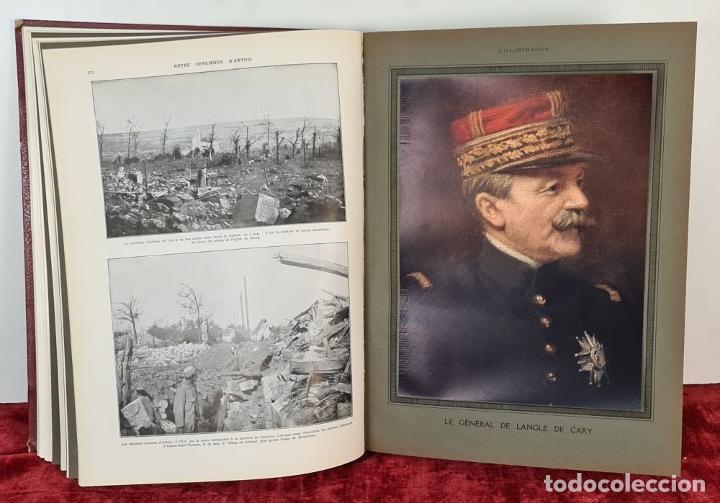 Libros antiguos: LALBUM DE LA GUERRE. VVAA. LILLUSTRATION. 2 TOMOS. 1932. - Foto 5 - 212955616