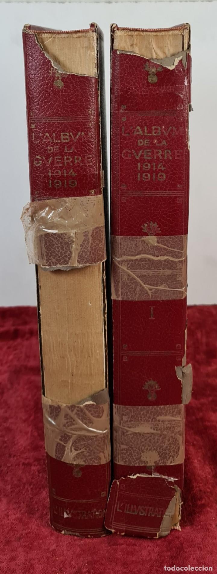 Libros antiguos: LALBUM DE LA GUERRE. VVAA. LILLUSTRATION. 2 TOMOS. 1932. - Foto 6 - 212955616