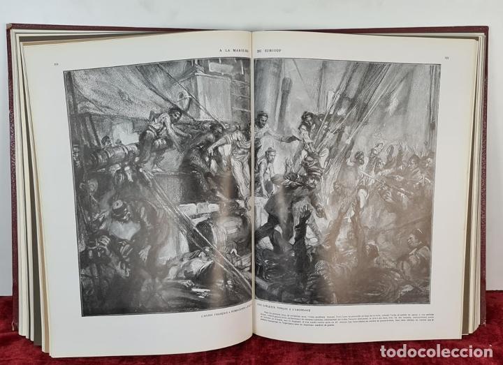 Libros antiguos: LALBUM DE LA GUERRE. VVAA. LILLUSTRATION. 2 TOMOS. 1932. - Foto 7 - 212955616