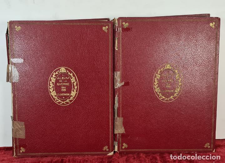 L'ALBUM DE LA GUERRE. VVAA. L'ILLUSTRATION. 2 TOMOS. 1932. (Libros antiguos (hasta 1936), raros y curiosos - Historia - Primera Guerra Mundial)