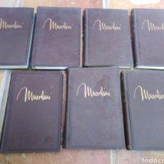 Libros antiguos: 7 TOMOS DE BENITO MUSSOLINI-ESCRITOS Y DISCURSOS-ORIGINAL AÑO 1935. Lote 220646955