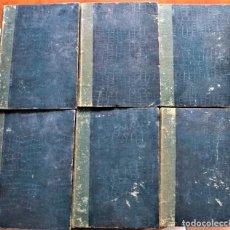 Libros antiguos: EPISODIOS DE LA GUERRA EUROPEA - J. PÉREZ CARRASCO - CASA EDITORIAL ALBERTO MARTÍN, 6 TOMOS COMPLETA. Lote 223267797