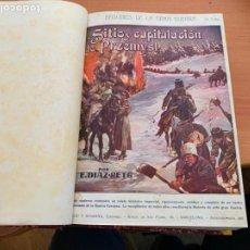 Libros antiguos: EPISODIOS DE LA GRAN GUERRA LOTE 40 CUADERNILLOS ENCUADERNADOS . ED. FELIU Y SUSANNA (LB49). Lote 229595415