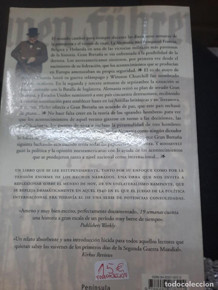 Libros antiguos: 19 SEMANAS NORMAN MOSS 1° EDICIÓN 2003 - Foto 7 - 234851445