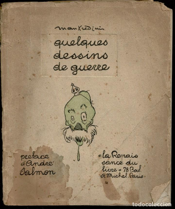 DESSINS DE GUERRE - MANFREDINI - CARICATURAS - PRIMERA GUERRA MUNDIAL - FRANCIA - 1917 (Libros antiguos (hasta 1936), raros y curiosos - Historia - Primera Guerra Mundial)