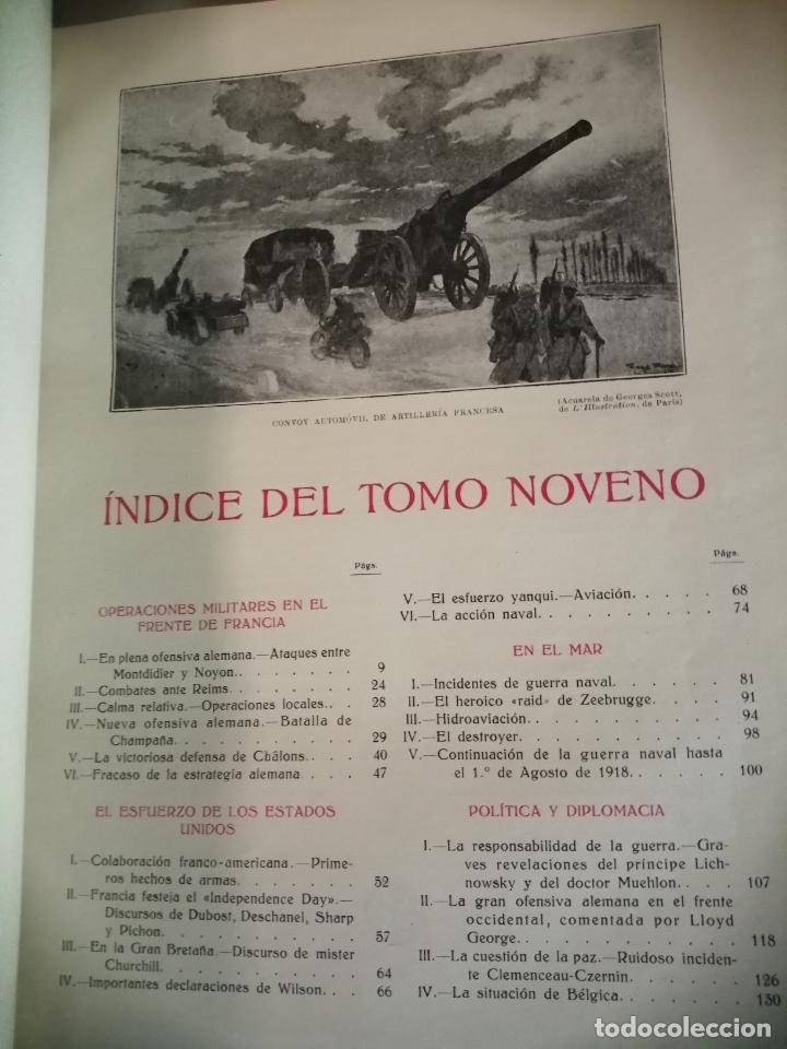 Libros antiguos: Historia guerra europea Vicente Blasco Ibáñez, 1ª Edición. - Foto 9 - 178726427