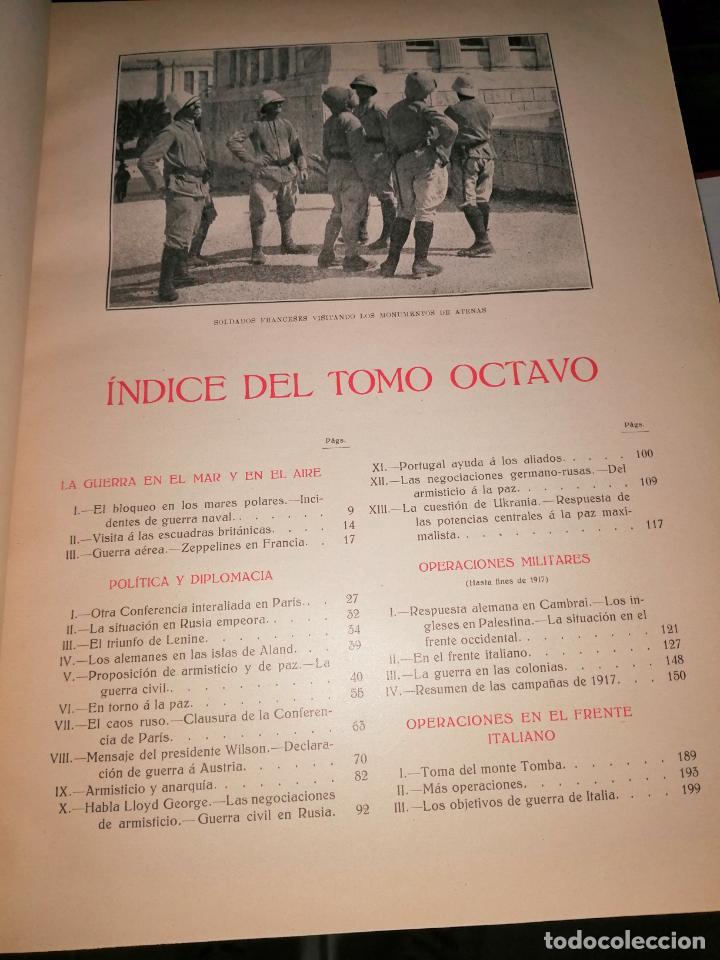 Libros antiguos: Historia guerra europea Vicente Blasco Ibáñez, 1ª Edición. - Foto 10 - 178726427