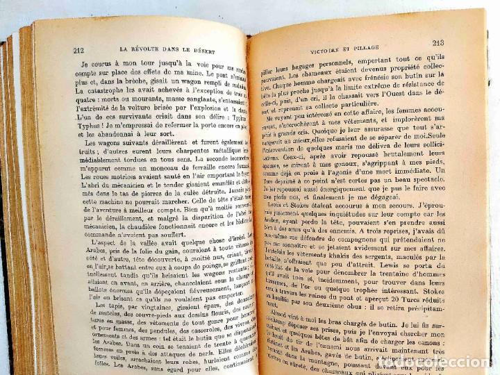 Libros antiguos: 1928 - LAWRENCE: LA RÉVOLTE DANS LE DÉSERT - Foto 3 - 241176575