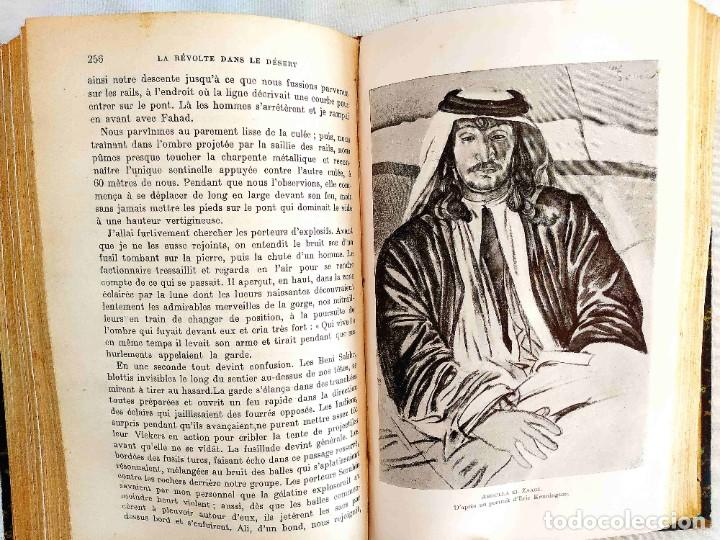 Libros antiguos: 1928 - LAWRENCE: LA RÉVOLTE DANS LE DÉSERT - Foto 11 - 241176575