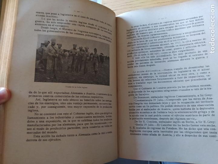 Libros antiguos: RAREZA. Episodios de la guerra europea. Barcelona, ed. Alberto Martin, sin fecha. Una joya. - Foto 11 - 243440750