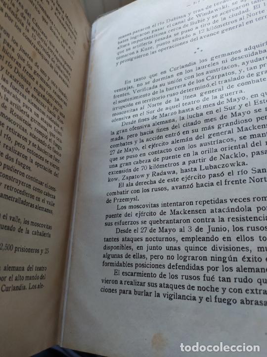 Libros antiguos: RAREZA. Episodios de la guerra europea. Barcelona, ed. Alberto Martin, sin fecha. Una joya. - Foto 16 - 243440750