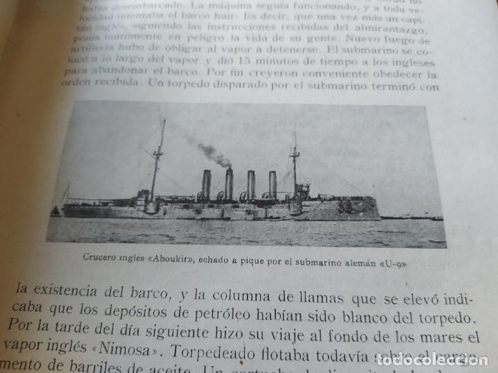 Libros antiguos: RAREZA. Episodios de la guerra europea. Barcelona, ed. Alberto Martin, sin fecha. Una joya. - Foto 22 - 243440750