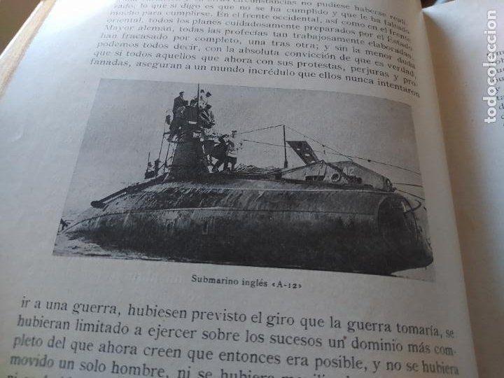 Libros antiguos: RAREZA. Episodios de la guerra europea. Barcelona, ed. Alberto Martin, sin fecha. Una joya. - Foto 23 - 243440750
