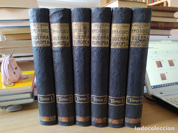 Libros antiguos: RAREZA. Episodios de la guerra europea. Barcelona, ed. Alberto Martin, sin fecha. Una joya. - Foto 2 - 243440750