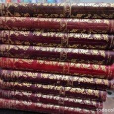 Libros antiguos: HISTORIA DE LA GUERRA EUROPEA 1914 - VICENTE BLASCO IBAÑEZ - EDITORIAL PROMETEO - 9 TOMOS. Lote 244408870