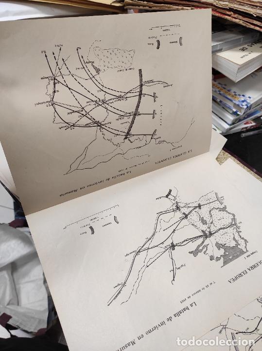 Libros antiguos: La guerra europea mapas - 6 tomos completos con todos los mapas - Muy buen estado - Foto 8 - 244411505