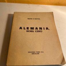 Libros antiguos: ALEMANIA HORA CERO. Lote 245219750