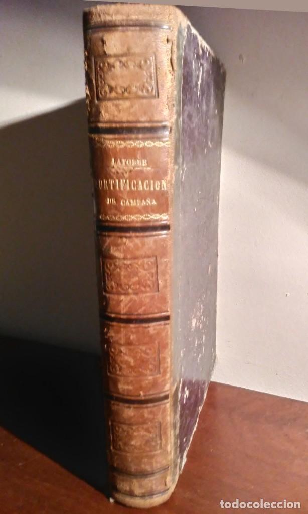 TRATADO ELEMENTAL FORTIFICACION DE CAMPAÑA (Libros antiguos (hasta 1936), raros y curiosos - Historia - Primera Guerra Mundial)
