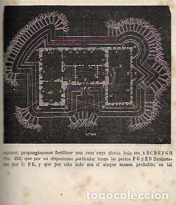 Libros antiguos: TRATADO ELEMENTAL FORTIFICACION DE CAMPAÑA - Foto 5 - 252818020