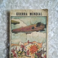 Libros antiguos: LOS ZEPPELINES ARROJAN BOMBAS SOBRE LONDRES - SOC.ED.MANRESANA - CHOCOLATES JUAN PALOU, PALMA - PJRB. Lote 255659280