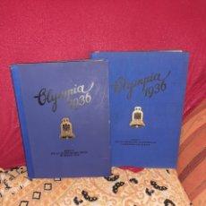 Libros antiguos: OLYMPIÁ 1936 BERLIN TOMO 1 Y 2. Lote 258043655