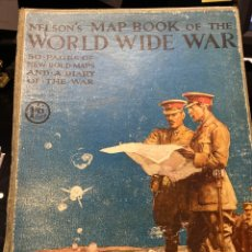 Libros antiguos: NELSON'S MAP BOOK OF THE WORD DUDE WAR. Lote 258851910
