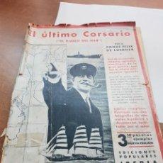 Libros antiguos: EL ÚLTIMO CORSARIO EL DIABLO DEL MAR IBERIA. Lote 262131190