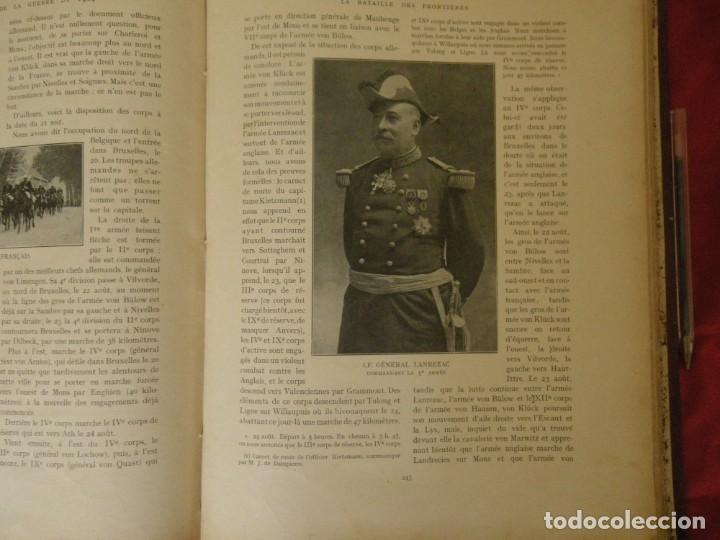 Libros antiguos: HISTORIA ILUSTRADA DE LA GUERRA DE 1914 , VERR - Foto 2 - 265215079