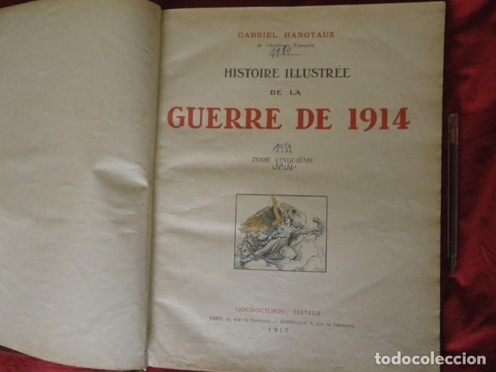 Libros antiguos: HISTORIA ILUSTRADA DE LA GUERRA DE 1914 , VERR - Foto 4 - 265215079