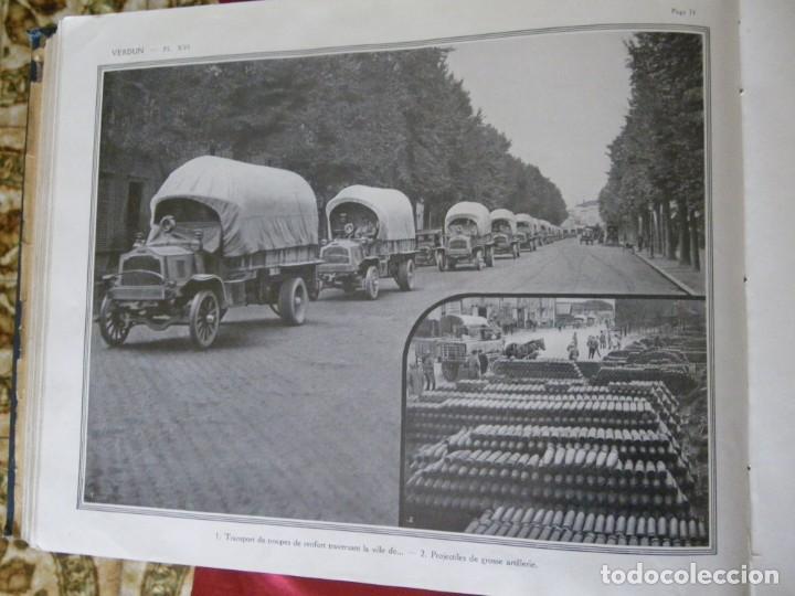 Libros antiguos: LA GUERRA SECCION FOTOGRAFICA MINISTERIO DE LA GUERRA , VERR - Foto 7 - 265215969
