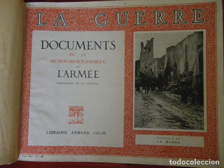 Libros antiguos: LA GUERRA SECCION FOTOGRAFICA MINISTERIO DE LA GUERRA , VERR - Foto 2 - 265215969