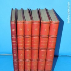 Libros antiguos: LA GUERRA ILUSTRADA.- AUGUSTO RIERA (DIRECCTOR) 6 VOL. OBRA COMPLETA. Lote 267491919