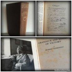 Libros antiguos: GRANDEZAS Y MISERIAS DE UNA VICTORIA - GEORGES CLEMENCEAU, PRIMER MINISTRO FRANCIA - IGM. Lote 270614033