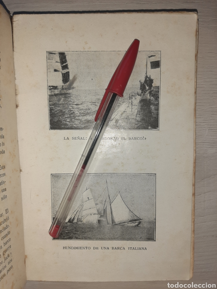 Libros antiguos: Diario de un comandante de un submarino alemán en la I Guerra Mundial. - Raro. - Fotografías - Foto 6 - 277526423