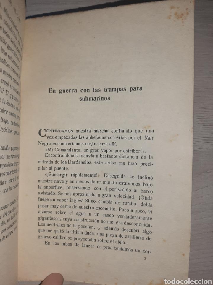 Libros antiguos: Diario de un comandante de un submarino alemán en la I Guerra Mundial. - Raro. - Fotografías - Foto 7 - 277526423