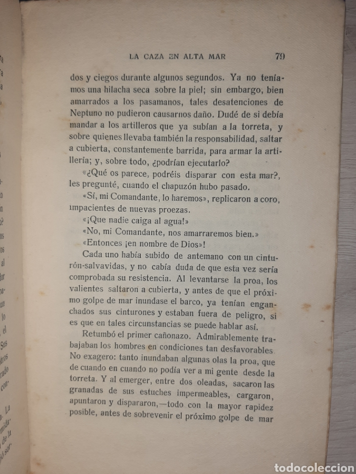 Libros antiguos: Diario de un comandante de un submarino alemán en la I Guerra Mundial. - Raro. - Fotografías - Foto 8 - 277526423
