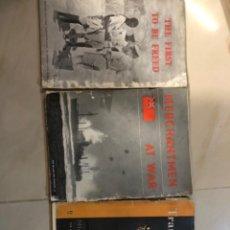 Libros antiguos: CONJUNTO DE TRES TÍTULOS SEGUNDA GUERRA MUNDIAL TODOS DE ÉPOCA. Lote 294096763