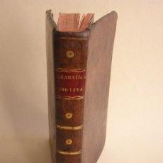 Libros antiguos: 1811 - GRAMATICA DE LA LENGUA INGLESA QUE CONTIENE REGLAS PARA SU PRONUNCIACION - IMPRENTA REAL. Lote 25278025