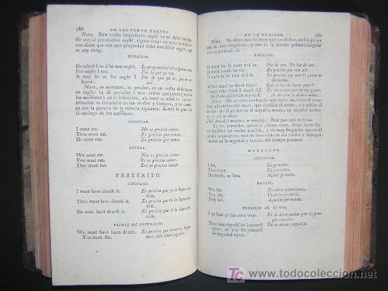 Libros antiguos: 1811 - GRAMATICA DE LA LENGUA INGLESA QUE CONTIENE REGLAS PARA SU PRONUNCIACION - Imprenta Real - Foto 4 - 25278025