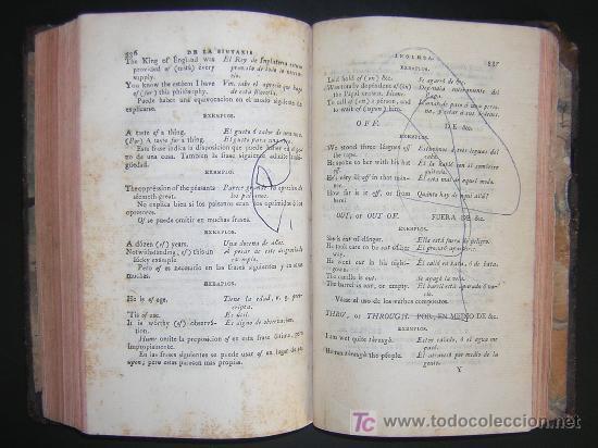 Libros antiguos: 1811 - GRAMATICA DE LA LENGUA INGLESA QUE CONTIENE REGLAS PARA SU PRONUNCIACION - Imprenta Real - Foto 6 - 25278025