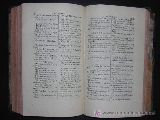 Libros antiguos: 1811 - GRAMATICA DE LA LENGUA INGLESA QUE CONTIENE REGLAS PARA SU PRONUNCIACION - Imprenta Real - Foto 7 - 25278025